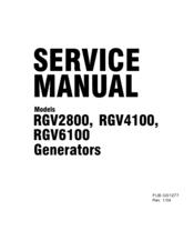 Robin America RGV6100 Manuals