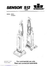 Windsor SENSOR S12 Manuals