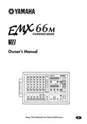 Yamaha EMX66M Manuals