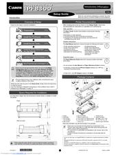 Canon imagePROGRAF iPF8300 Manuals