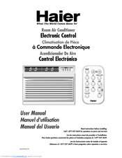 Haier HWR08XC3-T Manuals