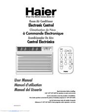 Haier HWR08XC3-T Manuals