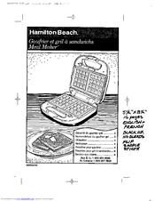 Hamilton Beach 26290 Manuals
