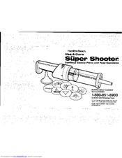 Hamilton Beach Super Shooter 80000 Manuals