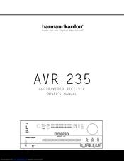 Harman Kardon AVR 235 Manuals