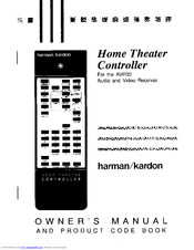 Harman Kardon AVR 30 Manuals