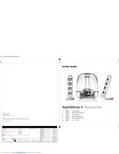 Harman Kardon SOUNDSTICKS II Manuals