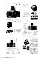 Hasselblad 500 C Manuals