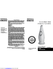 Homedics HUM-WM75 Manuals
