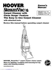 Hoover F5914 Manuals