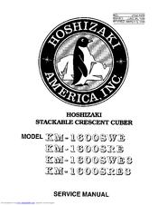 Hoshizaki KM-1600SRE3 Manuals