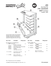 Hussmann IMPACT Elite E5 Manuals