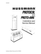 Hussmann Proto-Aire Manuals