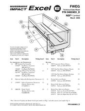 Hussmann FWEG Manuals