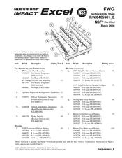 Hussmann FWG Manuals
