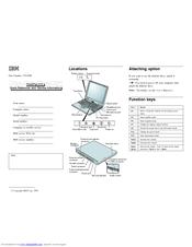 Ibm ThinkPad 570E Manuals