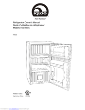 Igloo FR834 Manuals