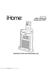 Ihome iH4 Manuals