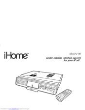 Ihome iH36 Manuals