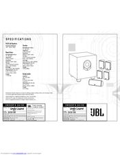 Jbl SCS 135 Manuals