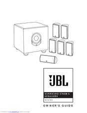Jbl SCS160SI Manuals