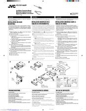 Jvc KD-SX1000RJ Manuals