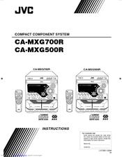 Jvc MX-G700R Manuals
