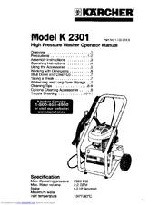Karcher K 2301 Manuals