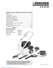 Karcher K 6.85 M Manuals