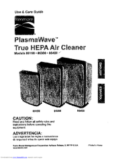 Kenmore PlasmaWave 85450 Manuals