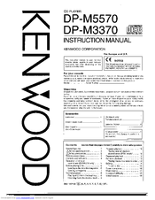 Kenwood DP-M5570 Manuals