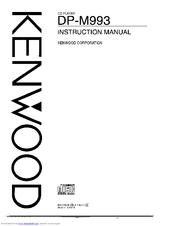 Kenwood DP-M993 Manuals