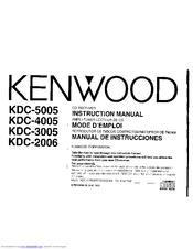 Kenwood KDC-3005 Manuals