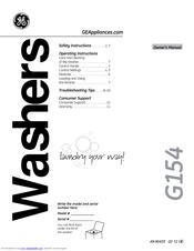 Ge G154 Manuals