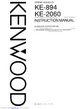 Kenwood KE-2060 Manuals