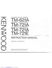 Kenwood TM-721A Manuals