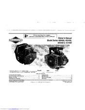 Briggs & Stratton 400400 Series Manuals