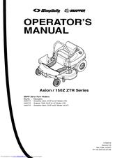 Briggs & Stratton 150Z Series Manuals