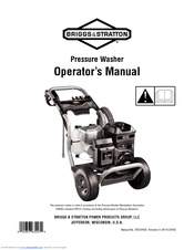 Briggs & Stratton 2900 PSI Manuals