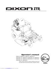 Dixon ZTR RAM 50 Manuals