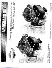 Briggs & Stratton 260700 Manuals