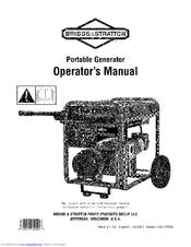 Briggs & Stratton Portable Generator Manuals