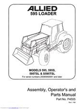 Buhler Allied 595 Manuals