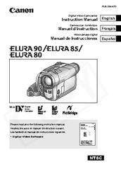 Canon ELURA 80 Manuals