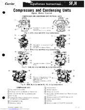 Carrier 5F Manuals