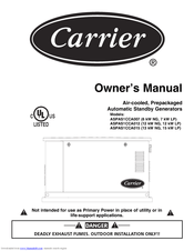 Carrier ASPAS1CCA015 Manuals