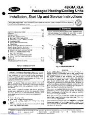 Carrier 48KLA Manuals