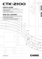 Casio CTK-2100 Manuals