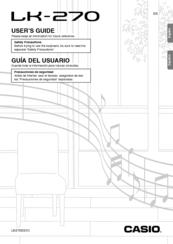 Casio LK-270 Manuals