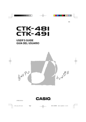 Casio CTK-481 Manuals